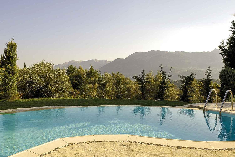 βίλα με ιδιωτική πισίνα - διαμονή, θέα από τον κήπο