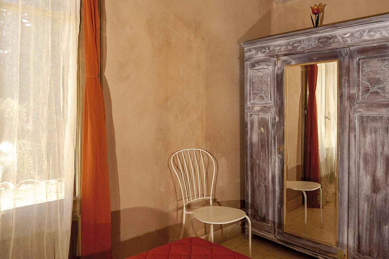 βίλα με ιδιωτική πισίνα, κομψά διακοσμημένο υπνοδωμάτιο