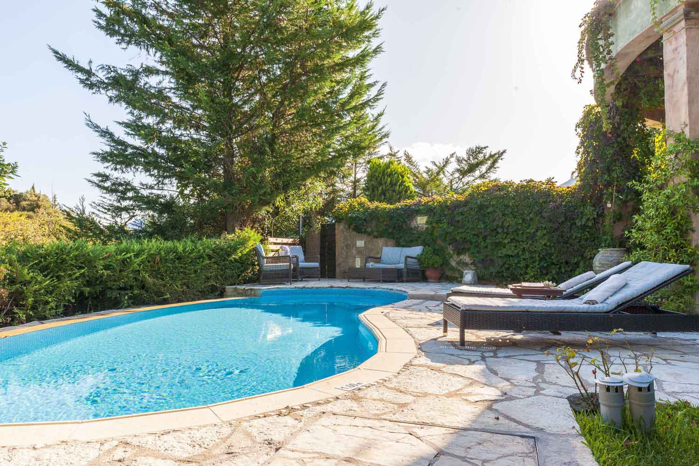 βίλα με ιδιωτική πισίνα στην Ελλάδα,, ωραίο τοπίο