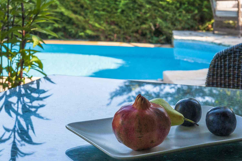 βίλα με ιδιωτική πισίνα για οικογένειες, λεπτομέρεια της πισίνας