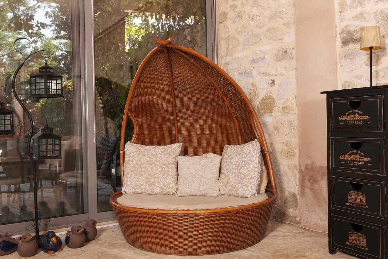 βίλα με ιδιωτική πισίνα - θέρετρο, χαλαρώστε στο καθιστικό