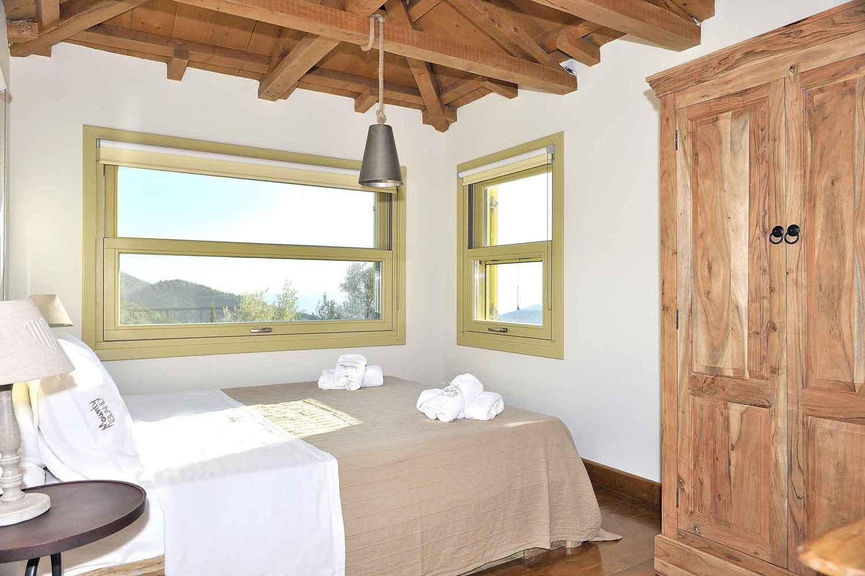 βίλα με ιδιωτική πισίνα στη Λευκάδα, αξιολάτρευτο δωμάτιο για τις διακοπές σας