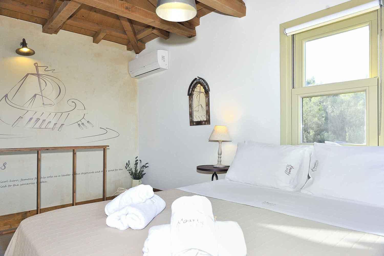 βίλα με ιδιωτική πισίνα προς ενοικίαση,  λεπτομέρεια υπνοδωμάτιο