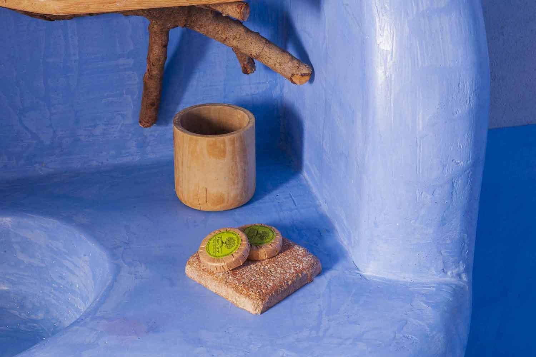 βίλα με ιδιωτική πισίνα, λεπτομέρεια μπάνιο