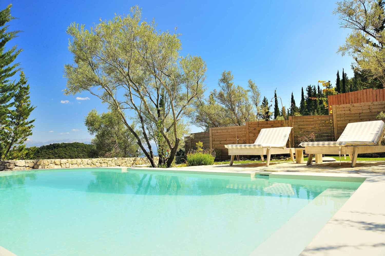 βίλα με ιδιωτική πισίνα - διαμονή, ένα τέλειο τοπίο