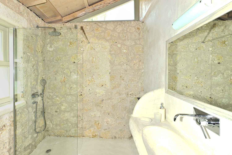 βίλα με ιδιωτική πισίνα - θέρετρο, ευρύχωρο μπάνιο
