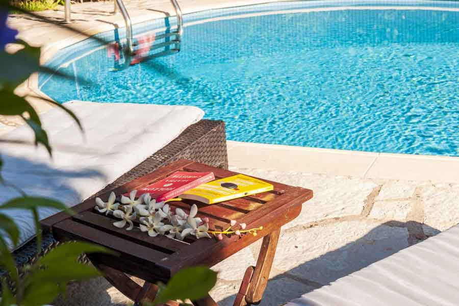 private pool villa at Ionian islands, luxurious vacations