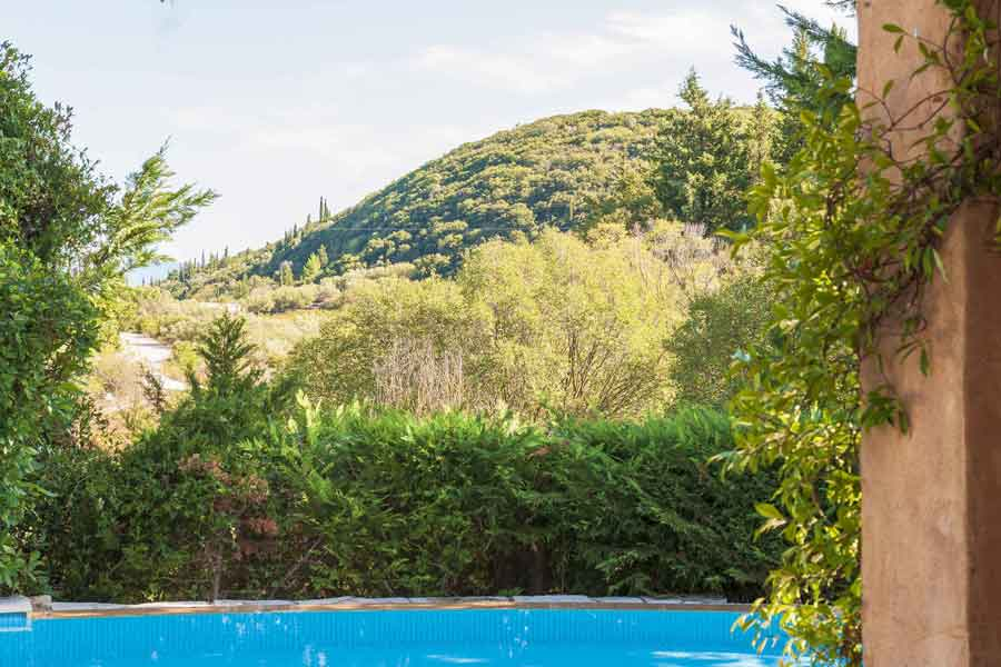 private pool villa - accommodation, breathtaking view from garden