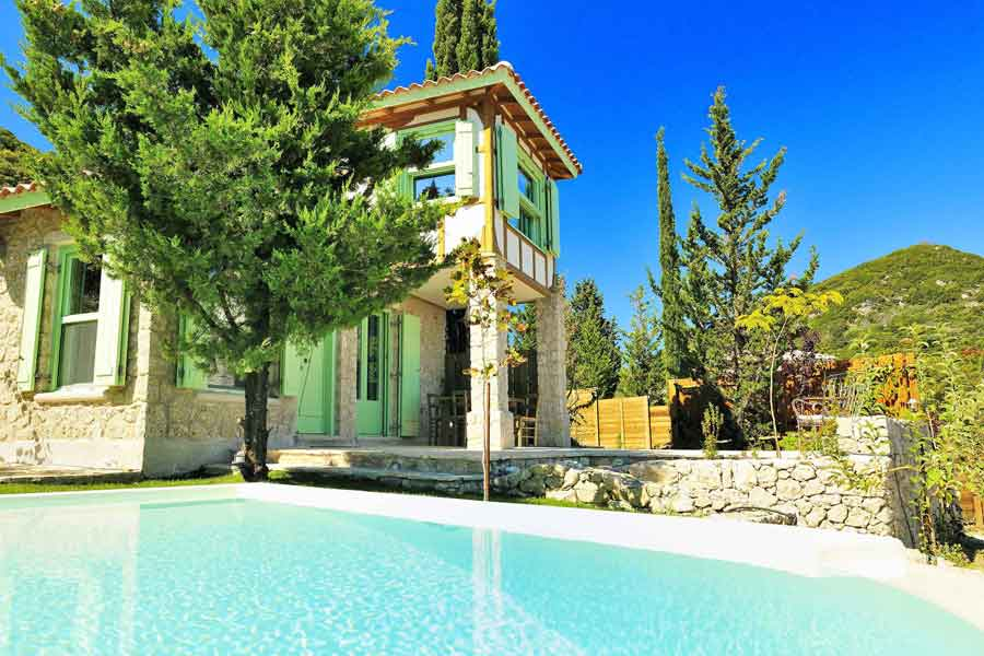 private pool villa in Greece, perfect vacations at your villa