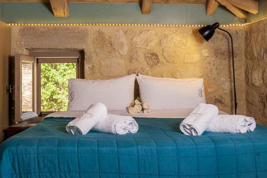 private pool villa, beautiful master bedroom